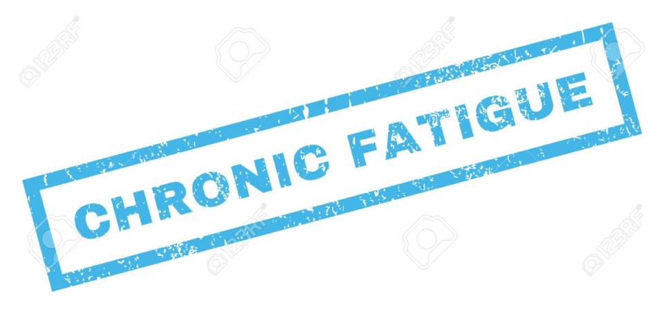 Chronic Fatigue Rubber Stamp